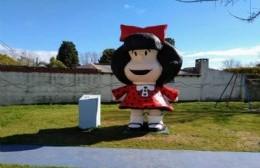 Refaccionan la plazoleta de Barrio Belgrano