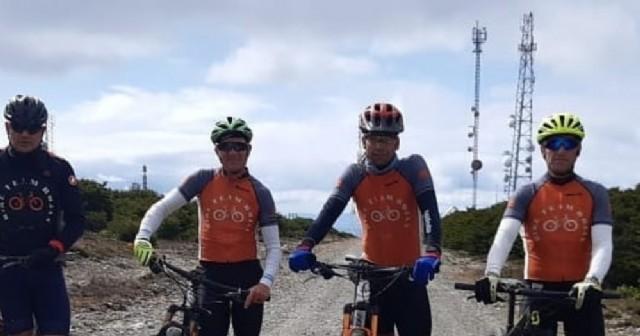 Destacada actuación de ciclistas rojenses en Chile