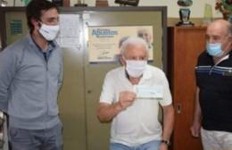 PAMI entregó subsidio al Centro de Jubilados y Pensionados
