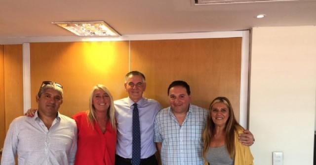 La dirigencia de Kolina Rojas se reunió con su referente nacional, Carlos Castagneto