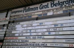 La empresa Pullman General Belgrano sigue abusando de su monopolio