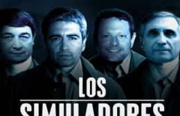 Los simuladores de la gestión municipal. Mario Olmedo, Daniel Coria, Luis Bortolato y Fabián Claudio.