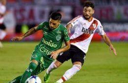 Sarmiento igualó con River Plate sobre el final del partido.