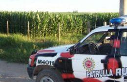Intervención de la Patrulla Rural.
