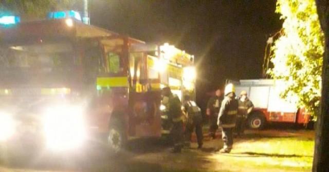 Se incendió en una vivienda de Barrio Belgrano