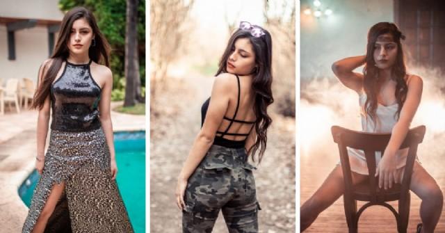 Agustina Lodi, una joven de Junín que nunca dejó de luchar para abrirse paso en el mundo del modelaje