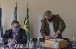 El intendente Rossi participó de la apertura de ofertas por la repavimentación de la Ruta 31