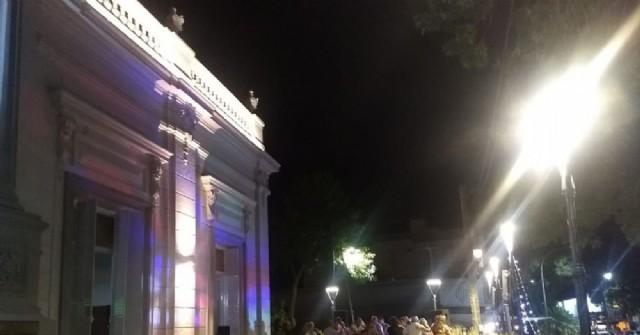 Continúan los bailes en la terraza del Centro Español