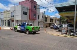 Choque entre moto y camioneta: un joven herido