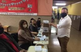 Votó Guillermo Lionetti