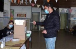 Votó Ricardo Bini