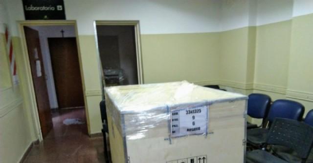 El Hospital Municipal recibió un ecógrafo y un equipo de rayos