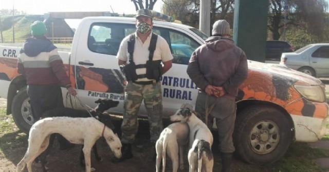 Procedimiento por cazadores furtivos en la zona rural de Carabelas