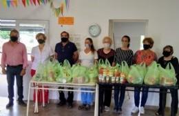 Nido urbano de barrio Santa Rita: donación del grupo de mujeres de AFA