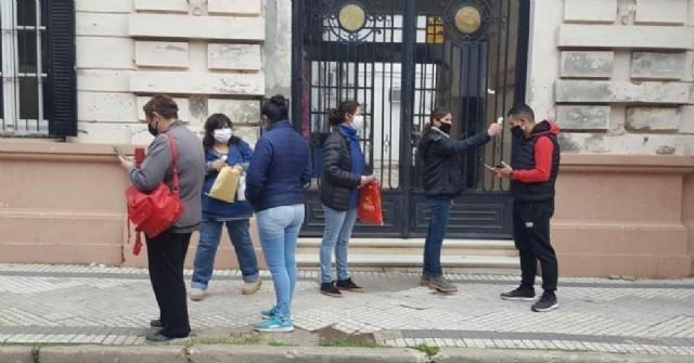 Las agentes sanitarias municipales retomaron su recorrida por la ciudad