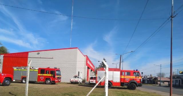 Dos intervenciones bomberiles en la tarde del sábado