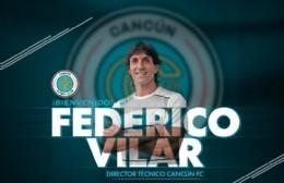 Federico Vilar nuevo técnico del Cancún FC