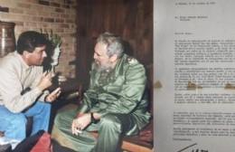 TyC Sports publicó la historia del rojense Daniel Van Der Beken con Diego y Fidel