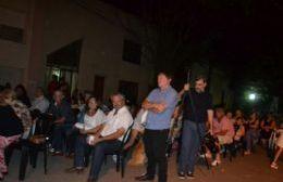 Esta es la única foto que tomó y publicó Prensa Municipal. Así fueron los festejos en Carabelas.