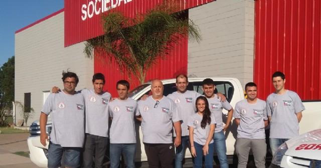 Los Bomberos Voluntarios viajaron a Chile por segundo año consecutivo