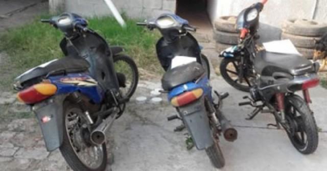Secuestros de motocicletas y aprehensión por tentativa de hurto