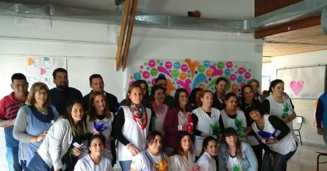 """Celebración del Día del Maestro en la Escuela Especial 501 """"Juan P. Cabodi"""""""