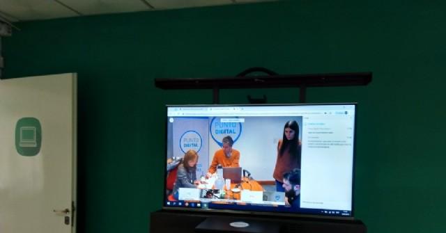 Videoconferencia sobre RCP y primeros auxilios en el CIC de Barrio Progreso