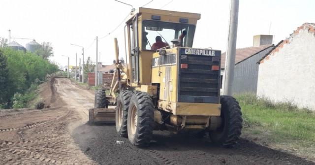 Completan trabajos de mantenimiento en calles de Barrio Covendiar II