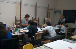 La Escuela Municipal de Artes Plásticas ya funciona a pleno