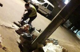 Residuos en las calles