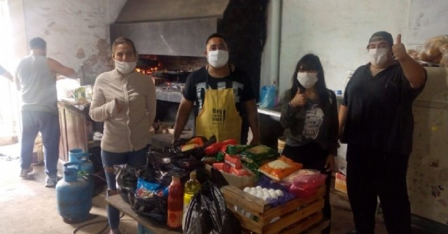 La Loma Solidaria en la pandemia: Segundo domingo de entrega de almuerzo