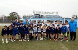Boca Juniors realizó prueba de jugadores en Rojas