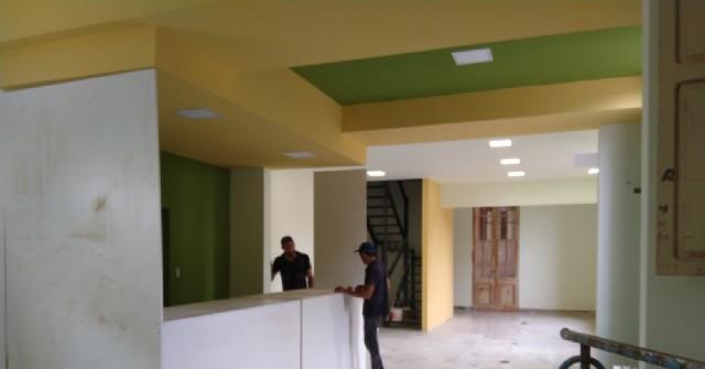 Obras en el edificio municipal: Avanzan las refacciones del área de recaudación