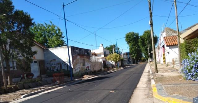 Finalizó el reasfaltado de 19 calles de la zona urbana
