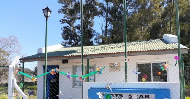 El jardín de infantes de Los Indios reconoció al personal de salud municipal