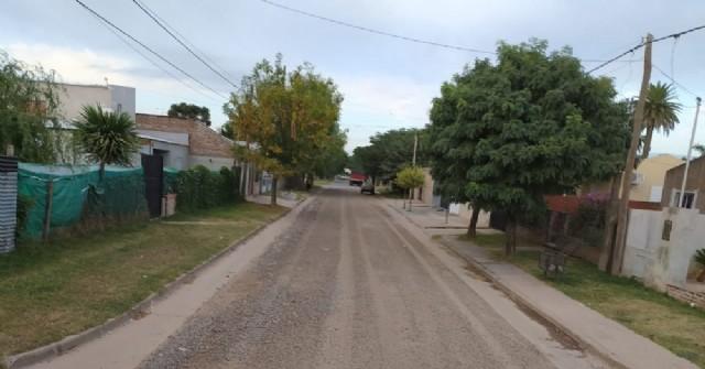 El Municipio intervino sobre calles Pastor Obligado en Barrio Progreso