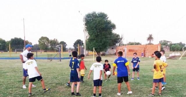 Fútbol infantil en Boca