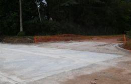 Pavimento en Alessandro: Intenso trabajo de Clyfer para inaugurar la primera etapa el 20 de diciembre
