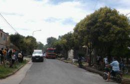 Importantes pérdidas materiales por incendio en Barrio Libertador