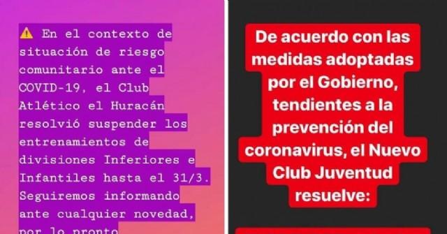 """""""Yo me quedo en casa"""": Clubes locales cierran sus puertas"""