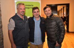 Claudio Rossi, Cristian Ritondo y Miguel Núñez.