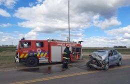 Accidente en la Ruta 31 y el acceso a Inés Indart
