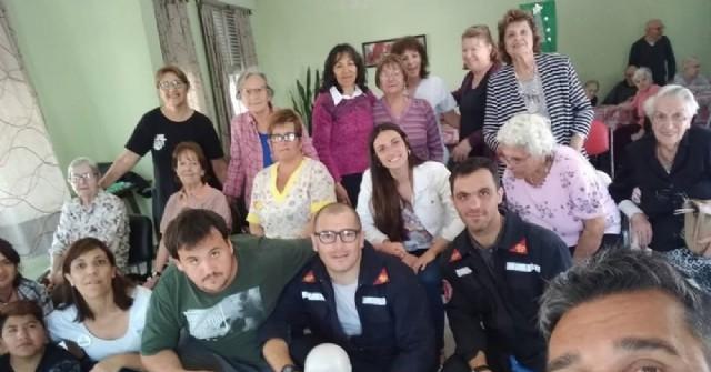 Bomberos Voluntarios brindaron una charla en el Hogar Madre Teresa de Calcuta