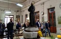 Misa en el Palacio Municipal: pidieron por la salud de Cristian Ford