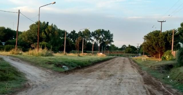 El Municipio interviene en la calle Guardia de Salto
