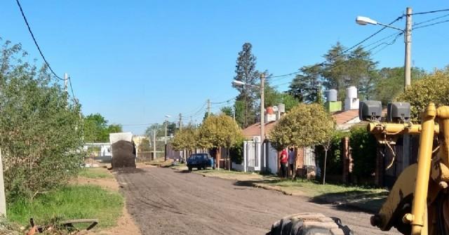 Arreglan calles de Barrio Covendiar II