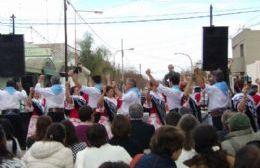 Pobres festejos oficiales en Carabelas por el 25 de Mayo