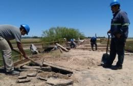 Comenzaron trabajos de reparación del Puente Mataderos