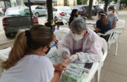 Testeos rápidos de VIH en Plaza San Martín