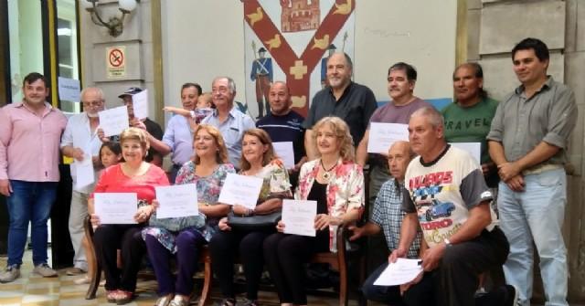 El Municipio brindó un cálido reconocimiento a los empleados que se jubilaron en el 2019
